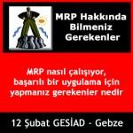 12 Şubat 2010 GESİAD-Seminer : MRP Nasıl Çalışıyor, başarılı bir uygulama için yapmanız gerekenler nedir ?